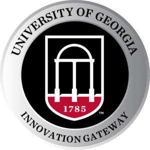 University of Georgia lapel pin configuration